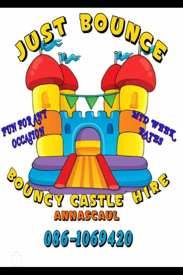 Just Bounce Bouncy Castle Hire Annascaul