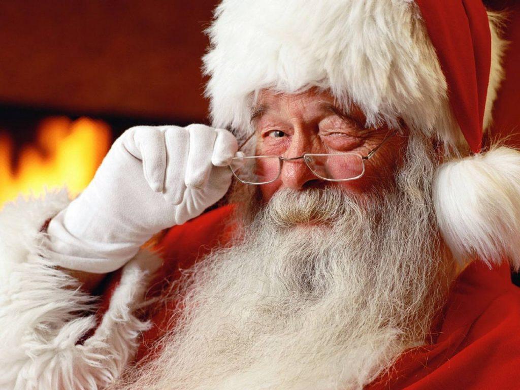 Santa at Annascaul
