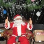 Santa in Annascaul 2014