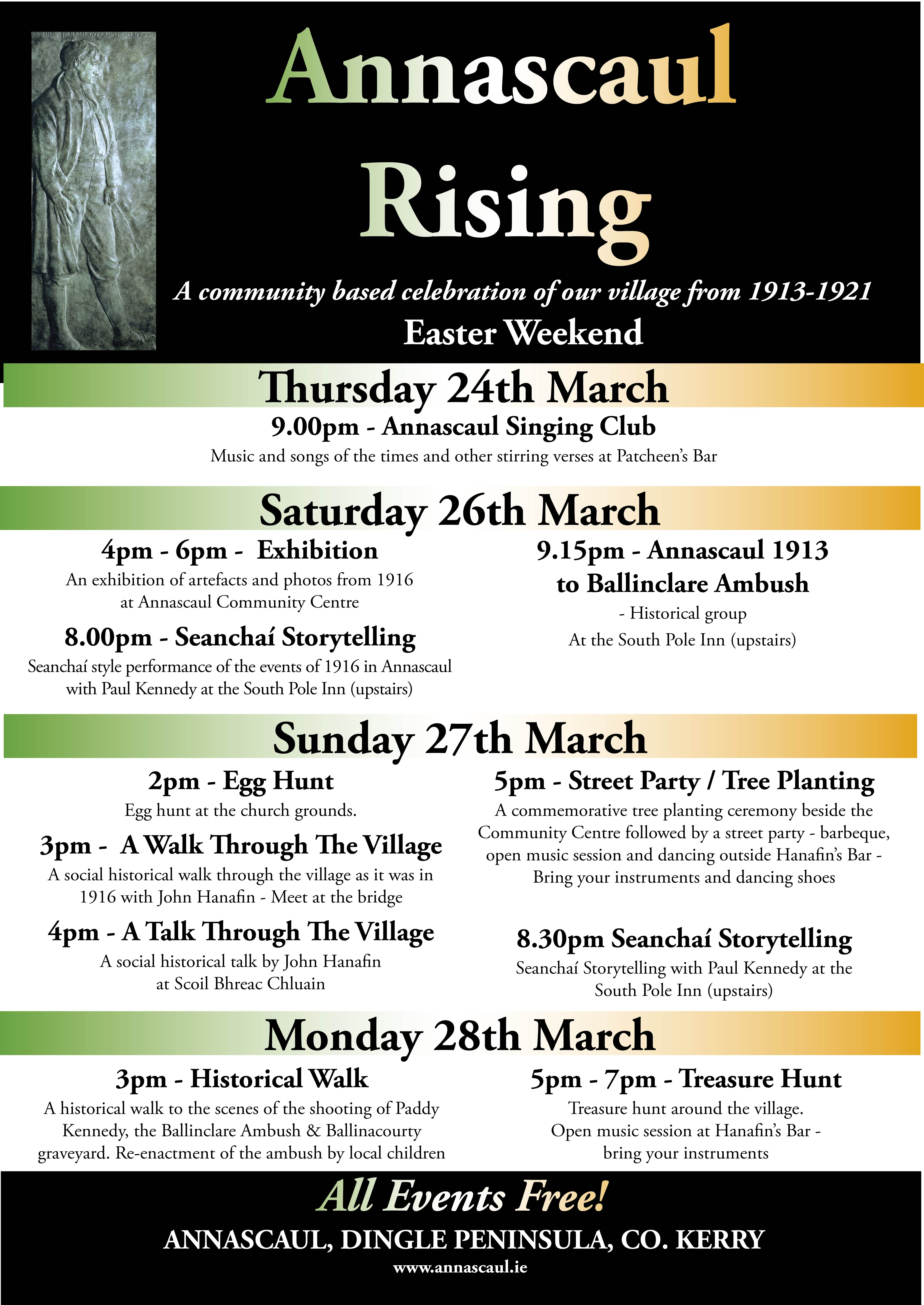 Annascaul Rising Poster EXPANDED