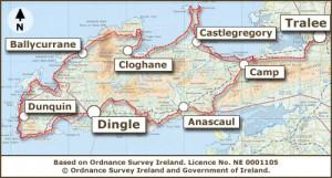 Dingleway Map Annascaul