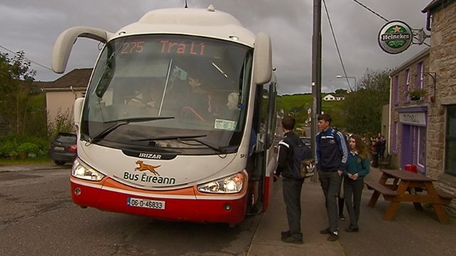 Row over school bus fare disparity for Kerry village children