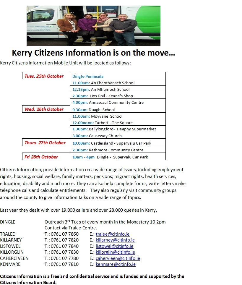 Kerry Citizens Information