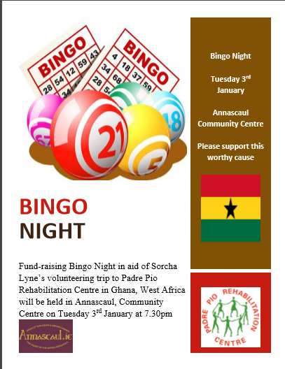 Bingo Night Annascaul