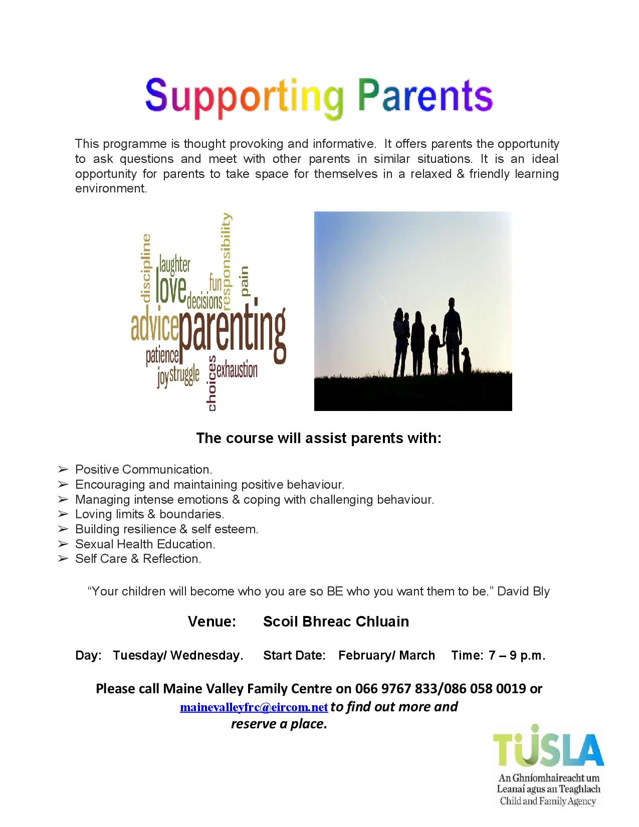 Annascaul Supporting Parents