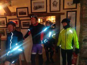 Cyclists taking part in the Tom Crean Challenge Cycle