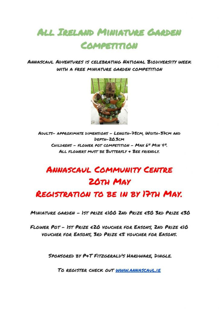 All Ireland Miniature Garden Competition