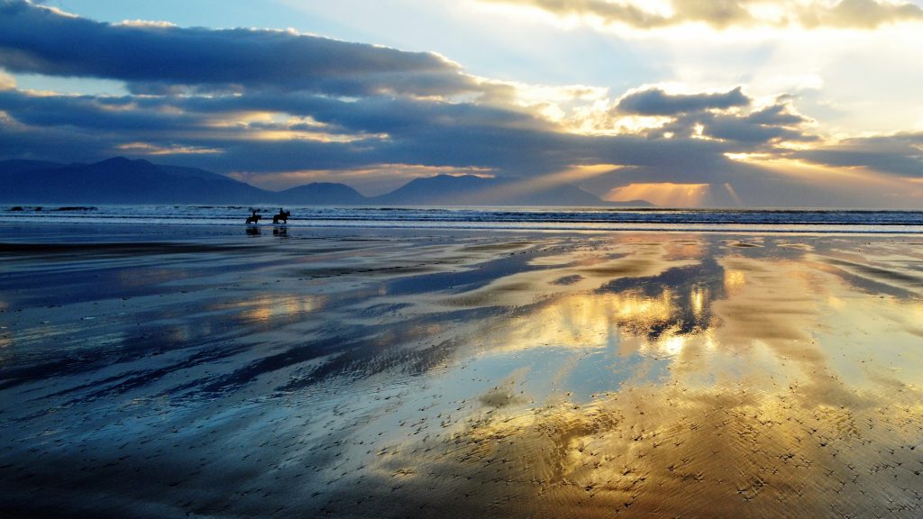 Inch Beach by Michael Kennedy, Inch, Co Kerry